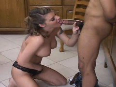 Gorgeous wench is fucked in...