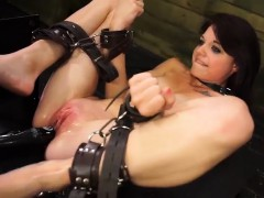 Nasty chick Kacey Dean gets...