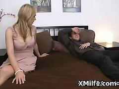 Hot Pegging In Hardcore Sexy Milf Beaver