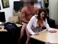 Busty amateur gets laid for...